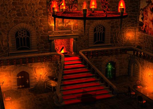 Resume software engineer portfolio 3d art design for Castle design software